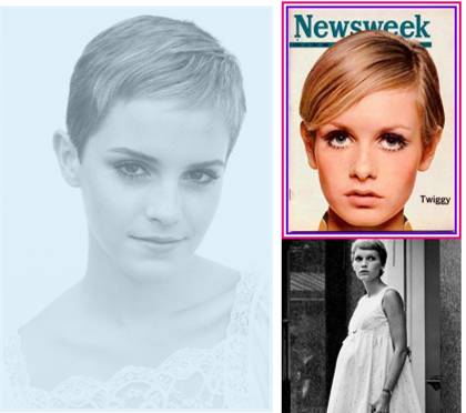 emma watson short hair wallpaper. Emma Watson short hair is