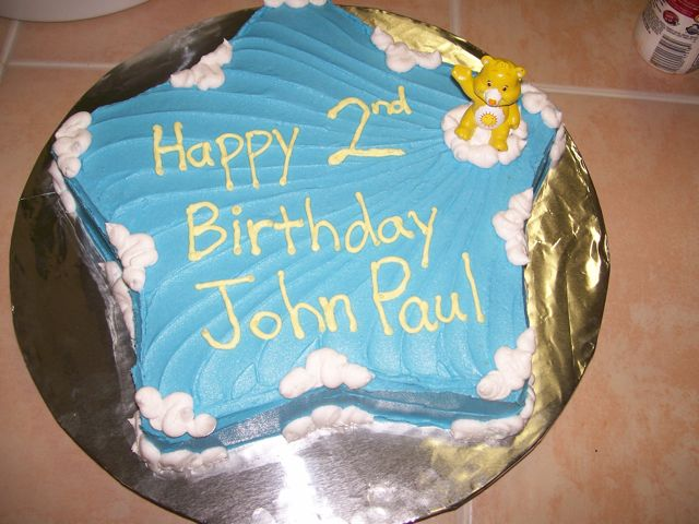 Birthday Cake For John : Cakes By Pamela: Happy 2nd Birthday John Paul