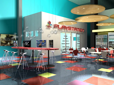 Employee Break Room Ideas http://www.designarounddenver.com/2009/07/play-station-call-center-my-portfolio.html