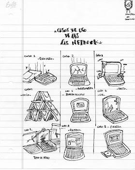 Usos de las Netbooks xD