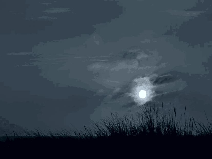 En un acorde azul esta noche hay luna llena for Que luna hay esta noche