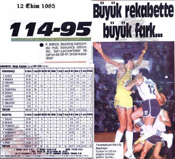 Çalakalem: Fenerbahçe tarihinde bugün (12 Ekim)