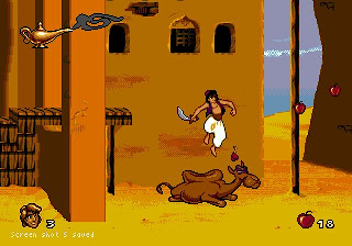 Camel jumping is a national pass-time in Agrabah.