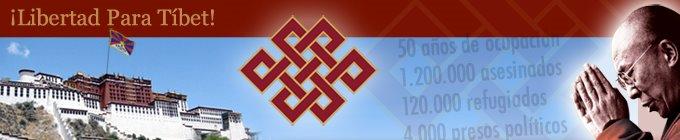 ¡Libertad Para Tibet!