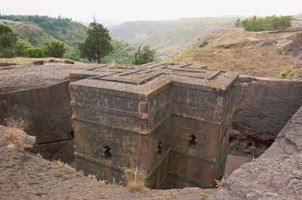 Iglesia escavada de Bet Giorgis (Lalibella)