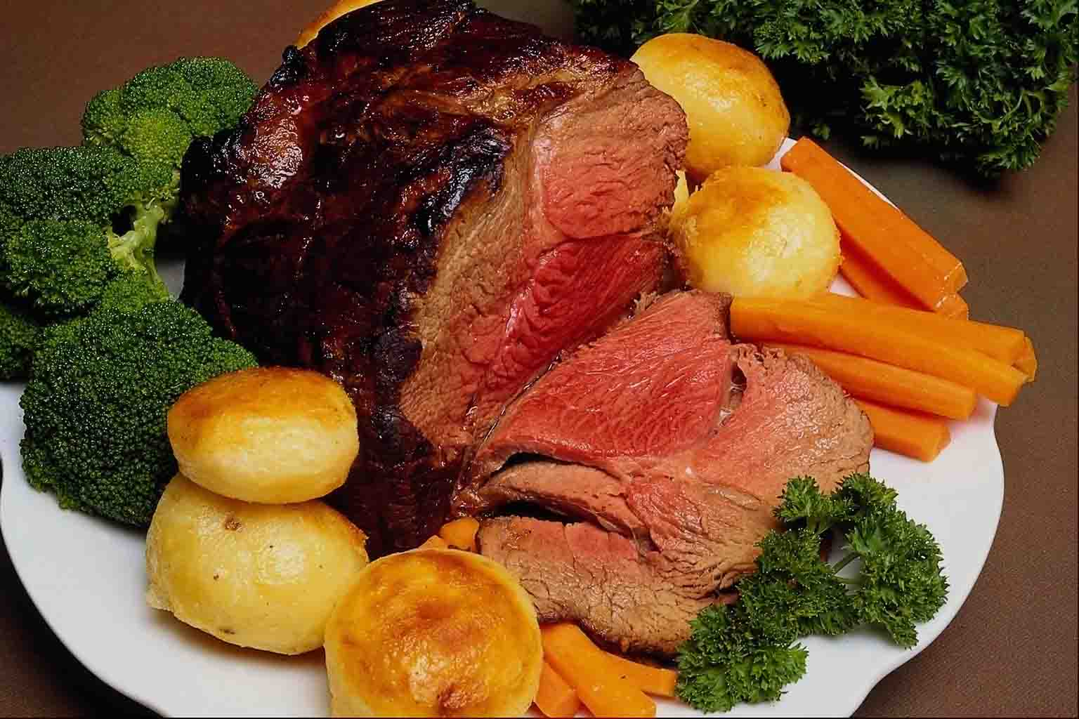 Traditional Roast Beef