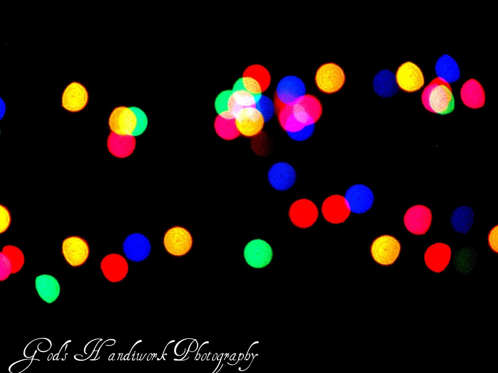 ~God's Handiwork Photography~: Christmas Bokeh