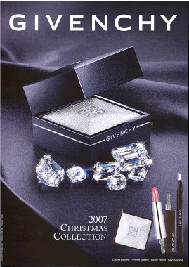 givenchy 2007 christmas collection