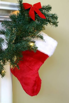 300px Christmas stocking