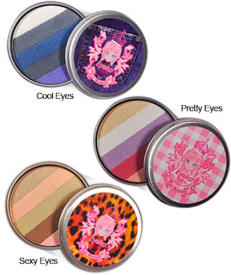 beauty eye shadows