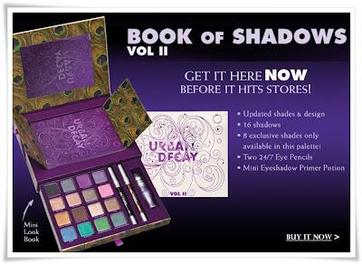 urban decay book  eyeshadow