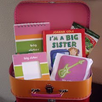 sibling suitcase by Munchkin Designs