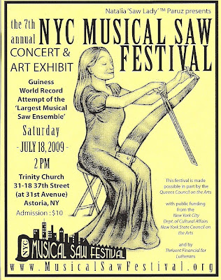 7th Annual NYC Musical Saw Festival