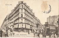 La rue Clignancourt