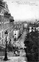 Anciennement rue Muller - Actuellement rue Maurice utrillo
