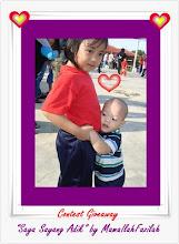 contest 'Saya sayang adik'.