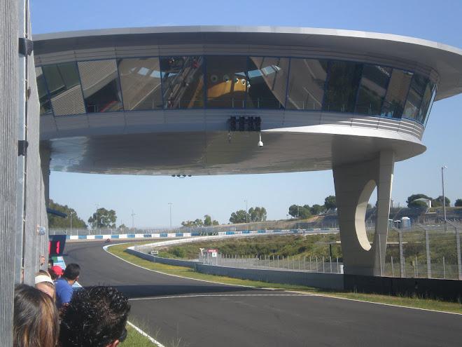 Entrada en meta de Jerez