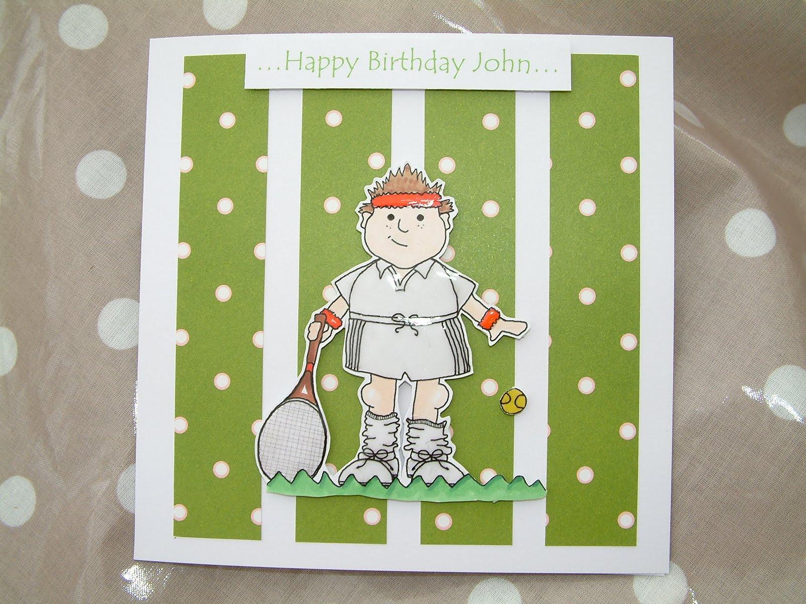 Janeys Cards Tennis Anyone