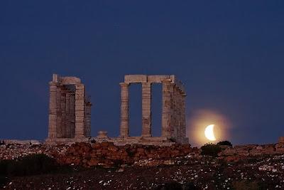 Eclipse en el Templo de Poseidón II
