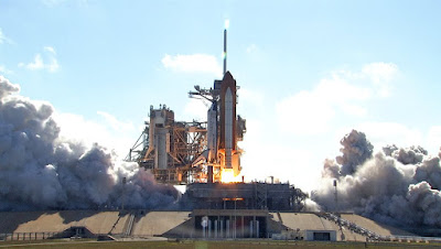 Despegue del Discovery. STS-124