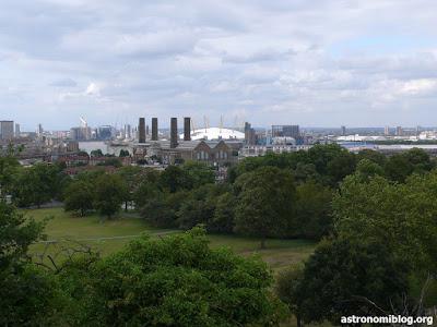 Vista del Millenium Dome