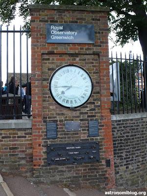 Entrada al Real Observatorio de Greenwich