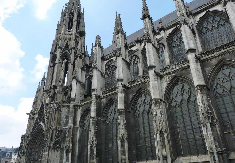 dispatch from metz rouen s churches