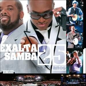 Capa Exaltasamba   25 Anos Ao Vivo | músicas