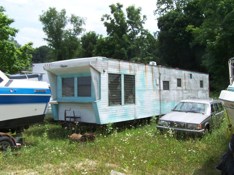 Trailer Park On Pinterest Vintage Trailers Trailers And