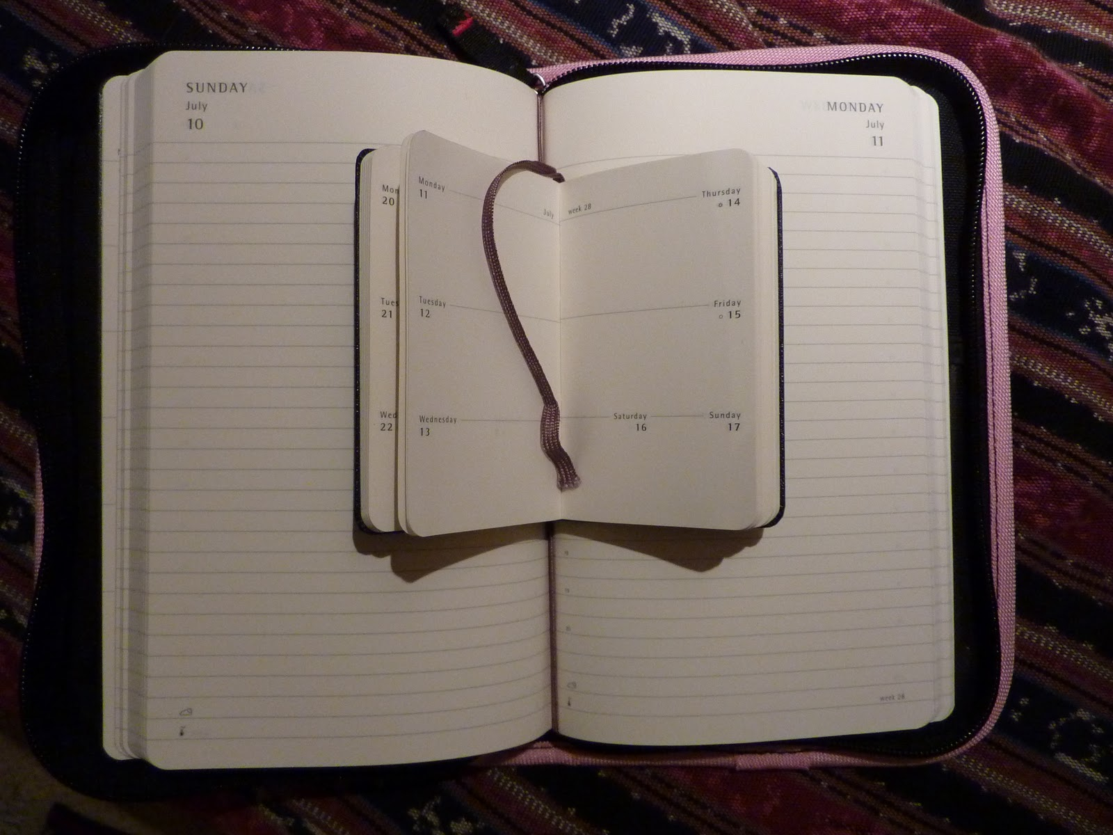 graphic relating to Large Daily Planner known as Moleskine planner mixtures - Plannerisms