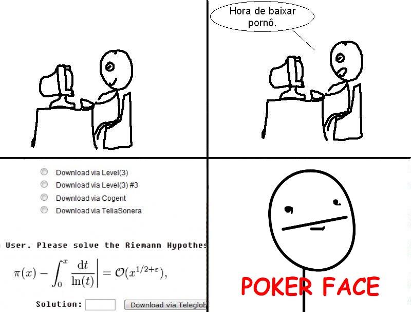poker face meme. poker face meme.