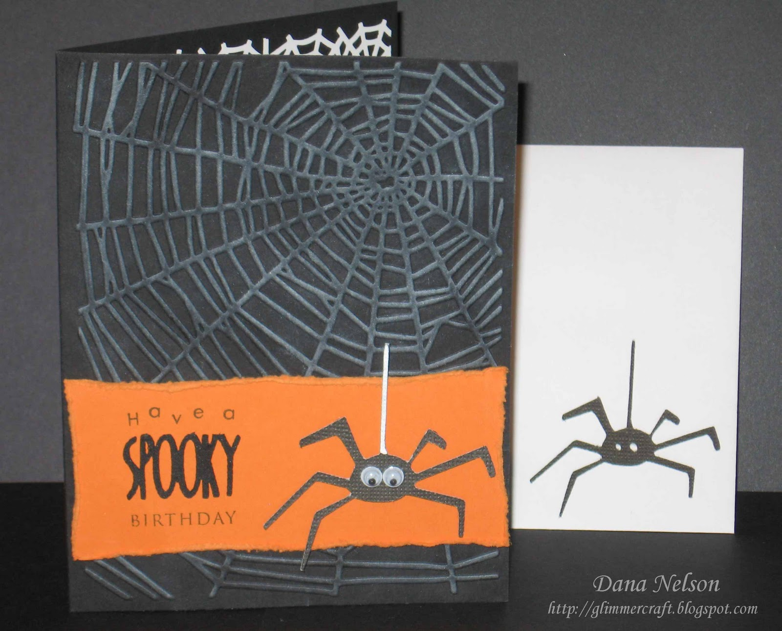 Aspiring to Creativity Halloween Birthday Cards