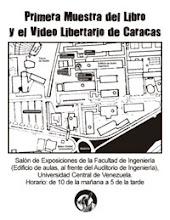 Mapa donde se realizará la Muestra en la UCV
