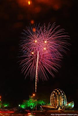 Penang Bon Odori Fireworks