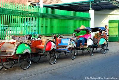 Becak, Jl Dagen