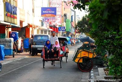 Becak, Jl Malioboro