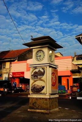 Clock Tower, Jl Malioboro