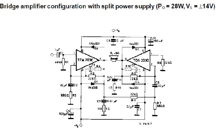 how to increase tda2030 amplifier gain