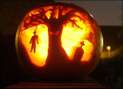 halloween special crazy pumpkin carvings a little bit