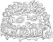 tertúlia gastronómica medieval. (sem referência a autor ou data)