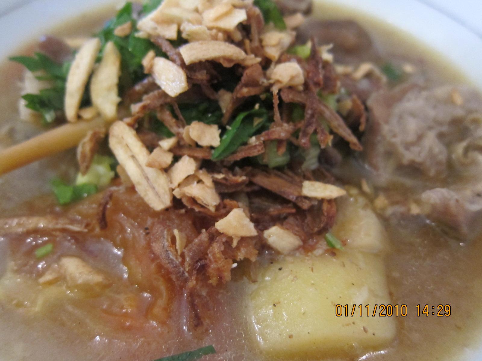 model 80 an resepi sup tulang rusuk kambing nanirostam