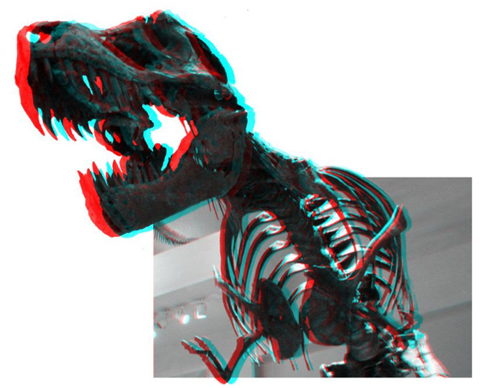 CREA TUS PROPIAS GAFAS DE CARTON 3D 15-dino_tiranosaurio_rex_3d