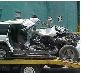 Cinco muertos en accidente de transito Villarpando este martes.