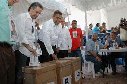 Gómez Mazara denuncia irregularidades en proceso de votación