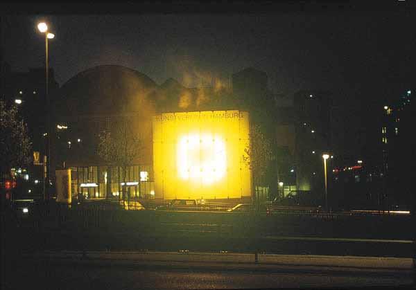 Thoka 1995 instalação Kunstverein, Hamburgo