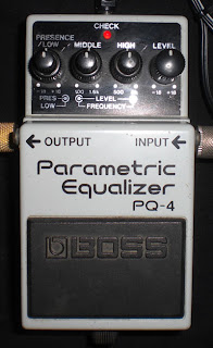 BOSS Parametric Equalizer pedal