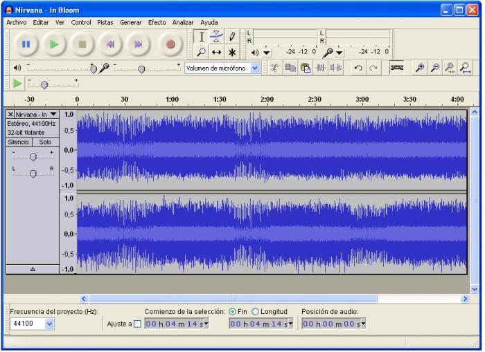 Ayuda para Second Life: Audicity - Editor de audio con soporte para ...