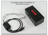 CP1002: Countdown (Pre)-Trigger Control Box with Plug-In 3 LED Harness