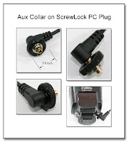 PJ1023: Aux Collar on ScrewLock PC Plug