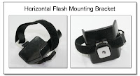 PJ1002: Horizontal Flash Mounting Bracket (no flash for clarity)